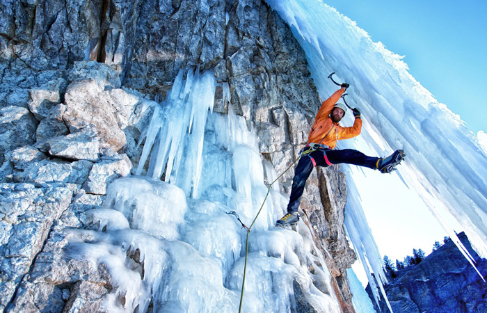 Top Ice Climbing Destinations in the U.S.